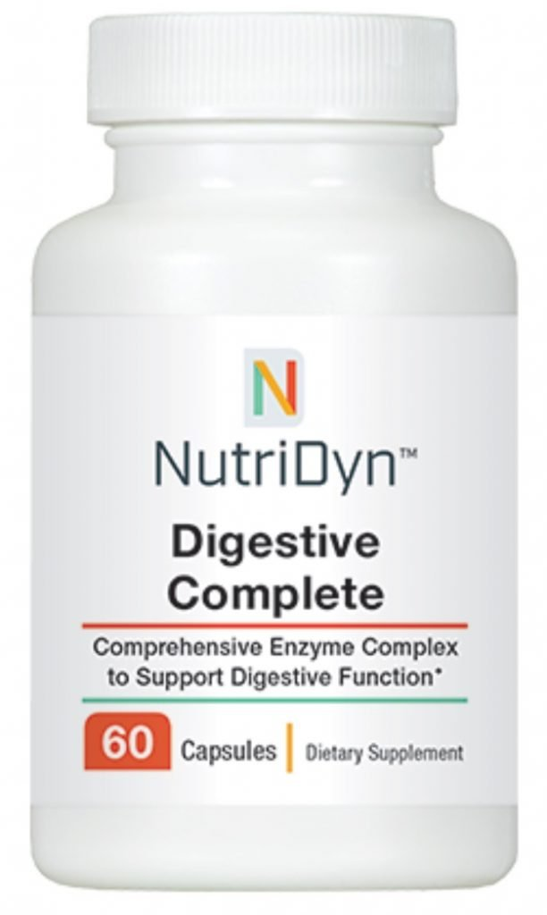 A photo of a purchasable supplement called Digestive Complete.