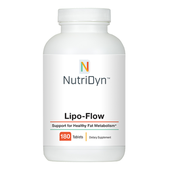 A picture of the purchasable supplement Lipo-Flow.